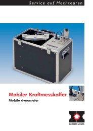 Mobiler Kraftmesskoffer - Hanning & Kahl