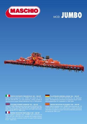MOD. JUMBO - Stroje Slovakia