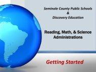 Getting Started - Seminole County Schools