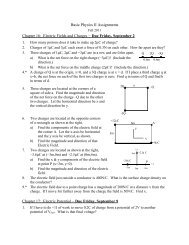 Chapters 16 & 17 - Physics