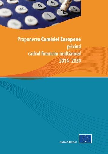 Cadrul Financiar Multianual 2014-2020 - Fonduri Structurale