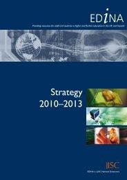 Strategy 2010–2013 - Edina