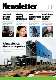 Kaluga attracts Western companies - Nefco