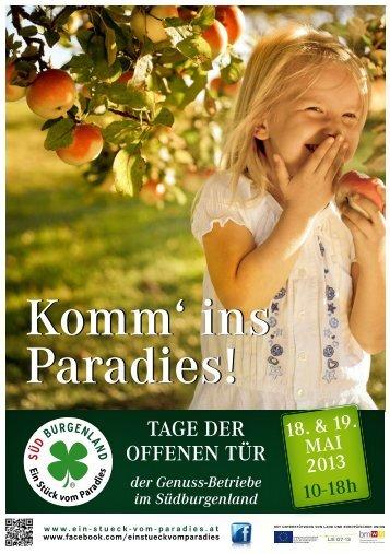 Komm' ins Paradies! - Südburgenland Plus