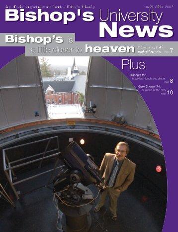 winter 07 FINAL.qxd - Bishop's University