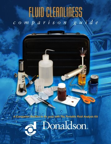 Fluid Cleanliness Comparison Guide - Donaldson Company, Inc.
