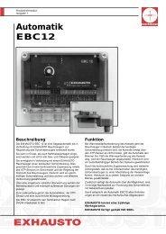 Automatik EBC12 - Stude Kaminbau