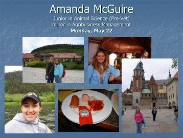 Amanda McGuire