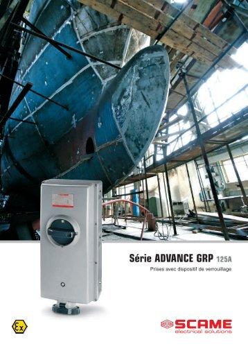 Série ADVANCE GRP 125A - Scame Parre S.p.A.