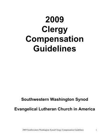 2009 Clergy Compensation Guidelines - Southwestern Washington ...