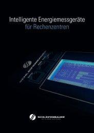 Intelligente Energiemessgeräte für Rechenzentren - Schleifenbauer