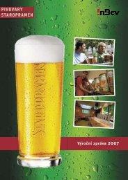Staropramen – výroční zpráva 2007