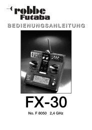 FX-30 2,4 Ghz-Deutsch:T-12 FG.qxd.qxd - Jet-Tech
