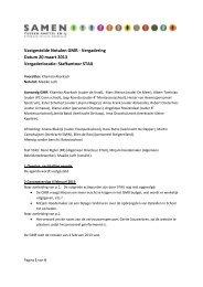 Notulen GMR vergadering 20 maart 2013 - Samen Tussen Amstel ...