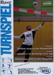 02/2008 - Bayerischer Turnspiel- Verband