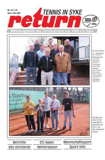 return 4. 07 - Tennisverein Syke