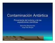 Contaminación Antártica