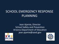 School Emergency Preparedness - AESA
