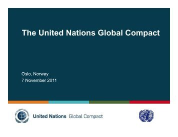Intro to GC Presentation_Oslo_no... - Global Compact Nordic Network