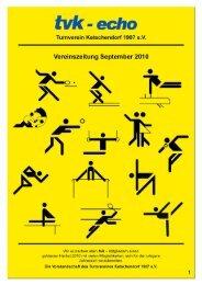 tvk-Echo - Ausgabe September 2010 - Turnverein von 1907 Coburg ...