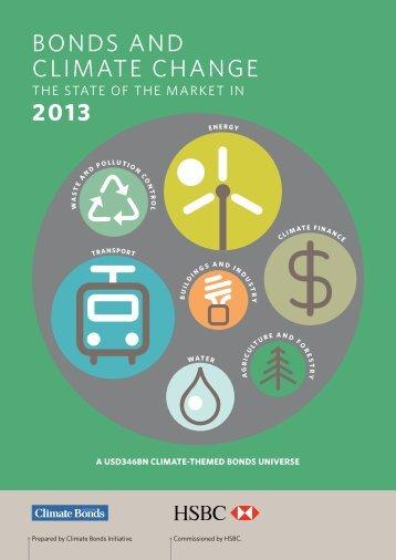 Bonds and Climate Change 2013 - Climate Bonds