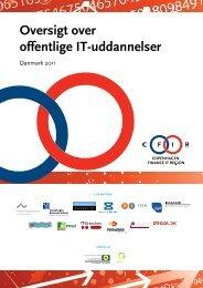Oversigt over offentlige IT-uddannelser (PDF) - CFIR