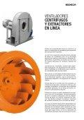 ventiladores centrífugos y extractores en línea para ... - Sodeca - Page 3