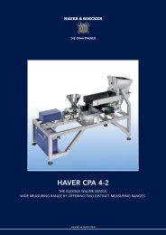 Data sheet HAVER CPA 4-2 - Partikelanalyse