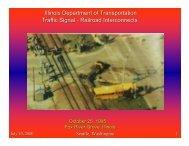 Traffic Signal-Railroad Interconnects - Traffic Signal Systems ...