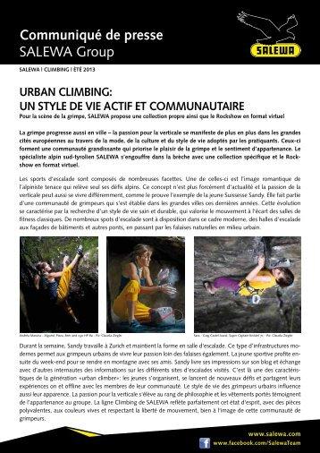 Urban Climbing (PDF) - Salewa