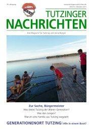 Download Heft 09 / Oktober 2011 - Tutzinger Nachrichten
