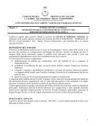 Scheda tecnica Mediazione scolastica - Sociale - Provincia di Cagliari