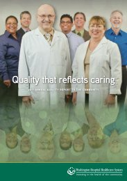 2011-12 Annual Report: Community. Quality. Innovation.