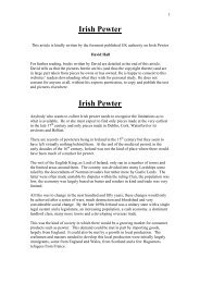 Irish Pewter - PewterBank