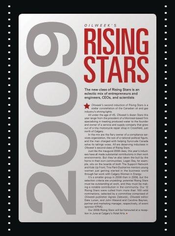 Rising Stars Class of 2009 - JuneWarren-Nickle's Energy Group