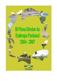 PDU - versão corrigida por todos - Embrapa Pantanal