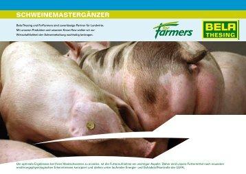 Mastschweine Ergänzer - ForFarmers Thesing