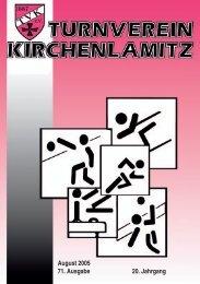 August 2005 - 71. Ausgabe - 20. Jahrgang - Herzlich Willkommen ...