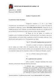PREFEITURA DO MUNICÍPIO DE JUNDIAÍ - SP Ofício GP.L nº 132 ...