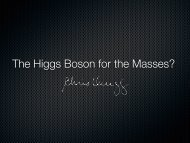 The Higgs Boson for the Masses?