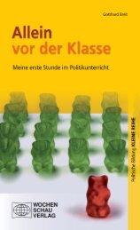 Leseprobe - Wochenschau Verlag
