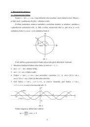 4 1. Matematická příprava 1.1. Goniometrické funkce ... - eAMOS