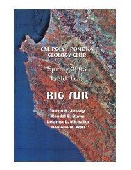 Big Sur (.pdf file) - Cal Poly Pomona