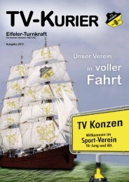 TV-KURIER - TV Konzen 1922 eV
