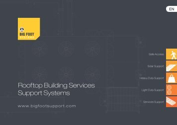Rooftop Building Services Support Systems - HITEX.lv