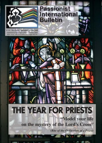 THE YEAR FOR PRIESTS - Passio Christi
