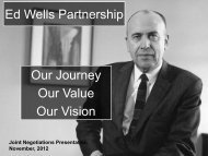 Link to Joint Ed Wells PowerPoint presentation - Speea