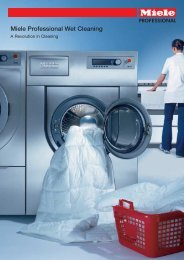 Miele Professional Wet Cleaning - acg - nystrom