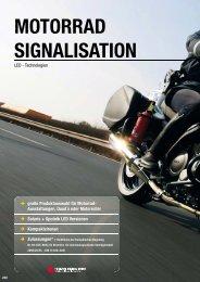 motorrad sigNalisatioN - Rauwers GmbH