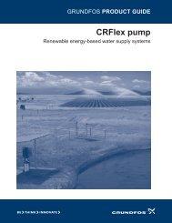CRFlex pump - Grundfos Canada